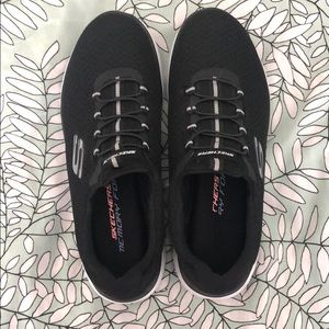 black memory foam sketchers